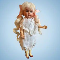 Small, A M Bisque Head Doll