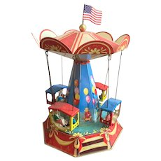 Carousel Wind Up Toy