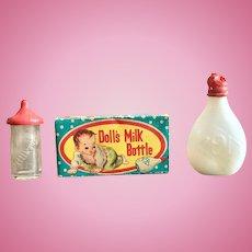 Vintage Doll Baby Bottles