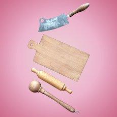 German, Wood Kitchen Accessories