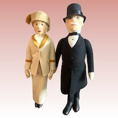 Pair of Steiff Dolls