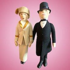 Pair of Steiff Dolls