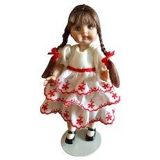 Bisque, Miniature Artist Doll