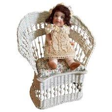 All Bisque, Miniature, Artist Doll
