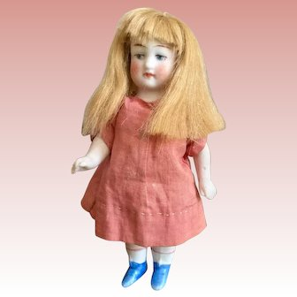 Hertwig All Bisque Miniature Doll