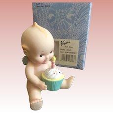 Porcelain Birthday  Kewpie by Charisma