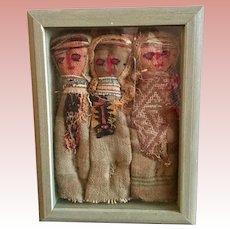 Set of Ethiopian Cloth Dolls