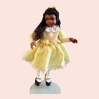 Miniature Black Artist Doll