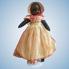 Masked Face Black Baby Doll