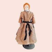 China Bonnet Head Doll
