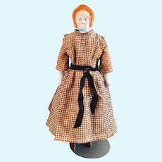 China Bonnet Head Doll