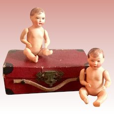 Small Suitcase with Celluloid Babies