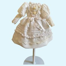 New, White Dress