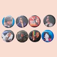 Michael Jackson Buttons