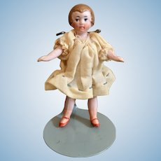 Hertwig, All Bisque Miniature Doll