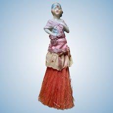 Flapper Half Doll Brush