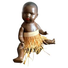 Ernst Heubach  Black Character Doll