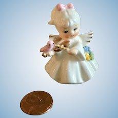 Miniature, Porcelain, 1950's Figurine