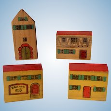 Miniature German Wood Buildings