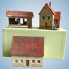 German, Miniature Houses
