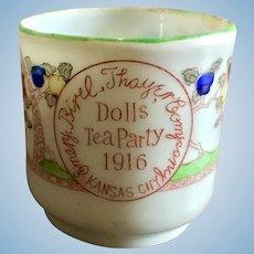 Emery Bird Thayer Dry Goods, Doll Tea Cup