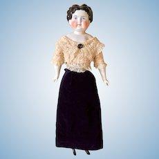 German China Head Doll