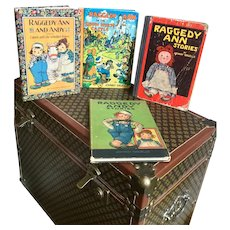 Four Raggedy Ann and Andy Books