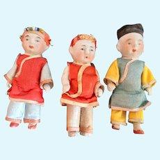 Bisque, Japanese Miniature Dolls