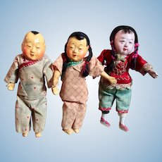 Miniature Chinese Dolls