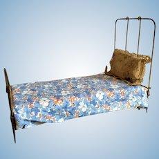 Brass Doll Bed
