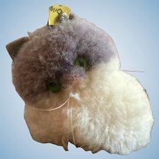 Miniature Woolen Steiff Cat