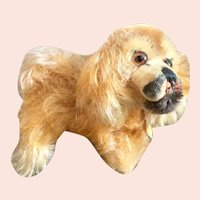 Small Steiff Pekingese Dog