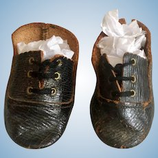 Old Leather Doll Shoes
