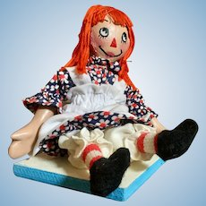 Raggedy Ann with Oil Painted Face