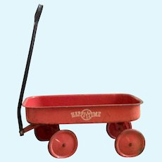 Small, Early Red Wagon