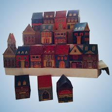 Cardboard Village/ Building Blocks