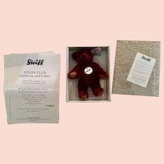 Miniature Steiff Club Bear