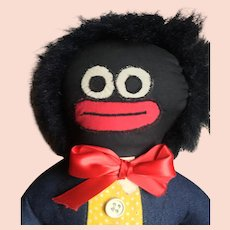 Cloth Golliwog by Flora Mediate