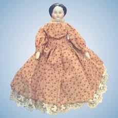 Small Flat Top China Doll