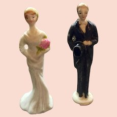Cake Toppers Bride and Groom