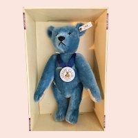 Large Steiff Blue Bear Club Edition 1994-95