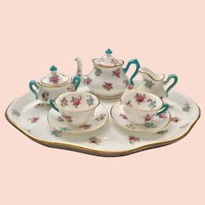 Miniature Staffordshire Tea Set