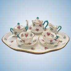 Miniature Staffordshire Tea Set