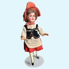 Painted Bisque Armand Marseille Doll