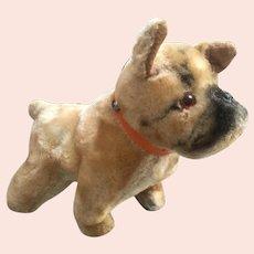 Vintage Small Mohair Bull Dog