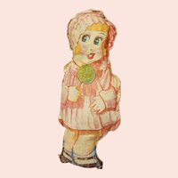 Early Print Cloth Doll