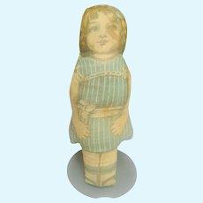 Printed Fabric Cloth Doll