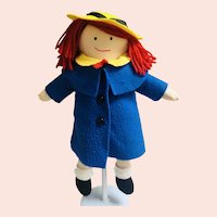 Cloth Madeline Doll by Eden