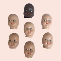 Plastic Coated Mask Faces to make dolls