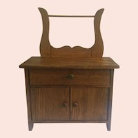Doll Size Wash Stand